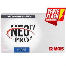 NEO TV PRO 2 H.265 12 MONTHS